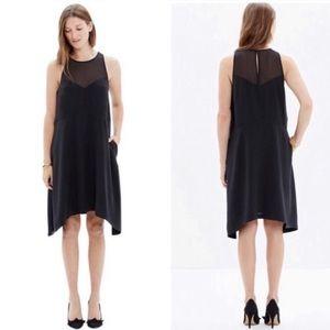 MADEWELL Women's Silk Black dress Size small